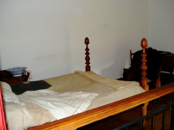 General Stonewall Jackson's death bed