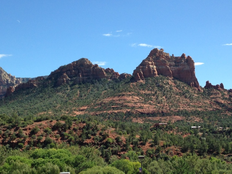 View from downtown Sedona