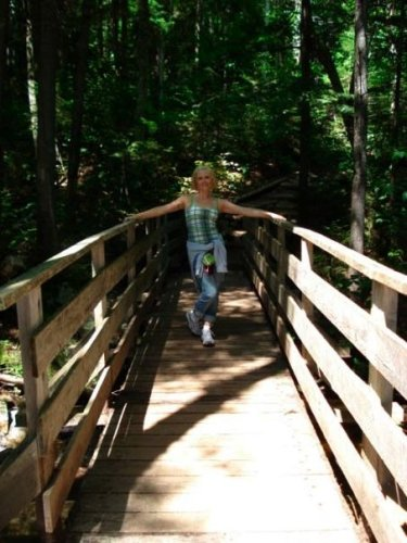 My first hike as an adult: Arethusa Falls